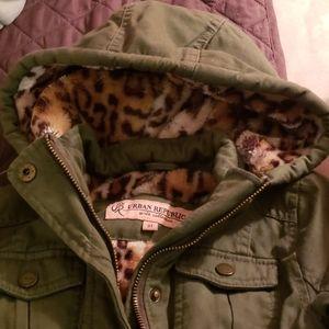 Urban Republic Leopard Jacket